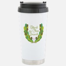 Extend an Olive Branch Travel Mug