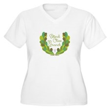 Extend an Olive Branch Plus Size T-Shirt