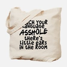 Watch Your Language Tote Bag