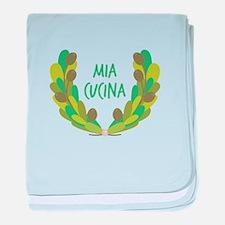 Mia Cucina baby blanket