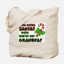 grandpasanta.png Tote Bag