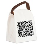 purpleleopard Canvas Lunch Bag