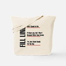 coffeefill Tote Bag