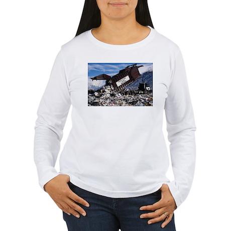 RECYCLE Women's Long Sleeve T-Shirt