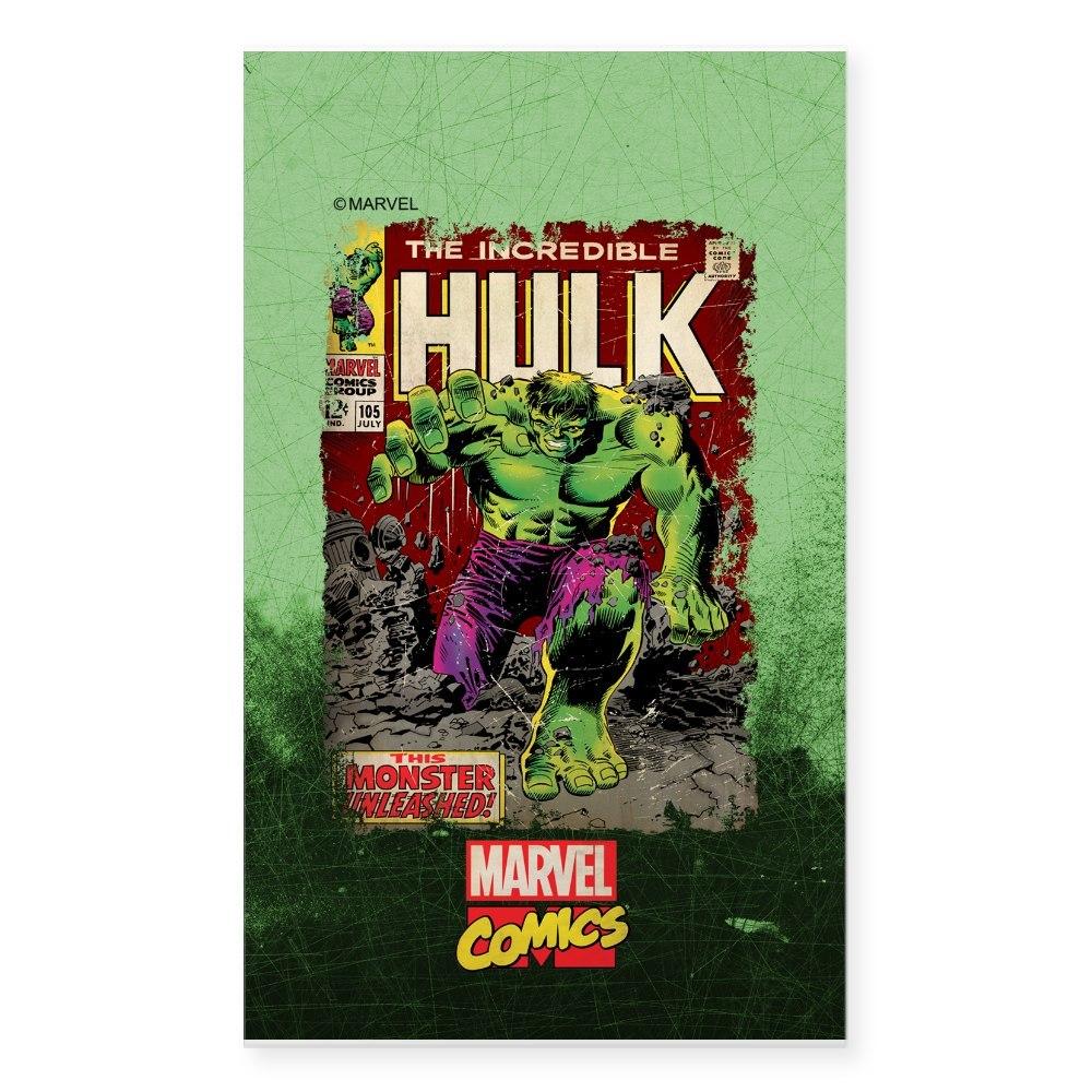 1401608892 CafePress Hulk Rectangle Bumper Sticker Car Decal