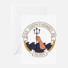 DD-850 USS JOSEPH P KENNEDY JR Dest Greeting Cards