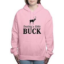 Daddy's little buck Women's Hooded Sweatshirt