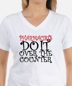 Pharmacists Do it over the  Shirt