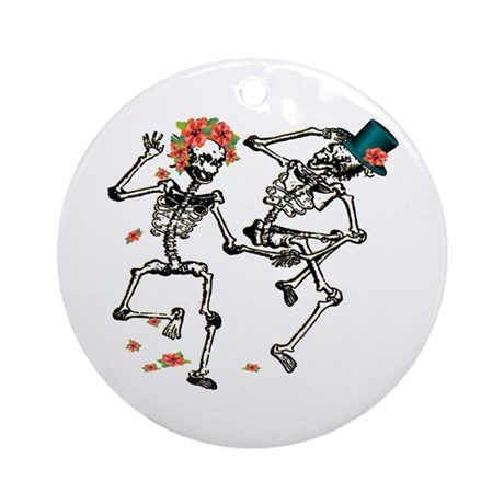 Day of the Dead Ornament (Round)