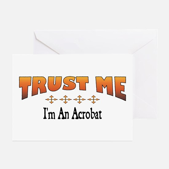 Trust Acrobat Greeting Cards (Pk of 10)