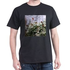 Monarchs on a Babys Breath Rest stop T-Shirt