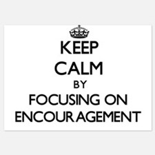 Keep Calm by focusing on ENCOURAGEMENT Invitations