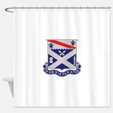 1st Bn 18th IR.png Shower Curtain