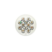 Astrology Horoscope - All Signs Mini Button