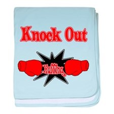 Knock Out Huffing red.png baby blanket