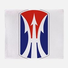 11th Light Infantry Brigade.png Throw Blanket