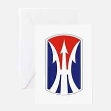 11th Light Infantry Brigade Greeting Cards
