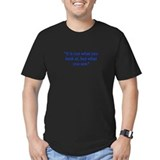 Funny Fitted T-shirts (Dark)