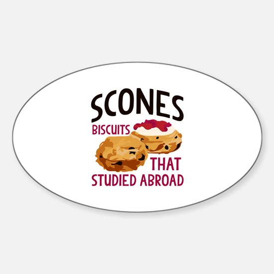 Scones Decal