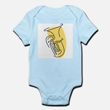 Tuba Infant Creeper (Gold)