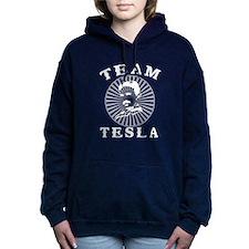 Team Tesla Women's Hooded Sweatshirt