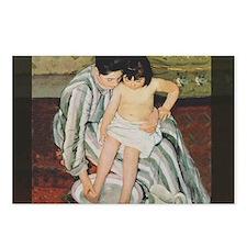 Mary Cassatt Child's Bath Impressionist Postcards