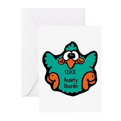 Anxiety Disorder Greeting Cards (Pk of 10)
