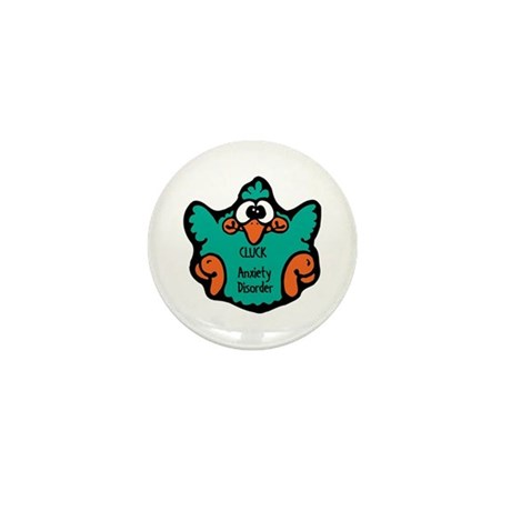 Anxiety Disorder Mini Button (100 pack)