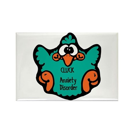 Anxiety Disorder Rectangle Magnet