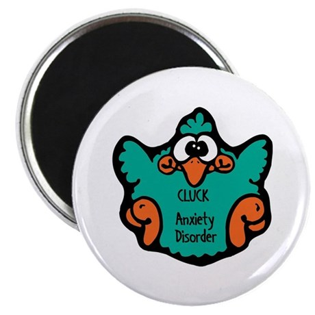 """Anxiety Disorder 2.25"""" Magnet (10 pack)"""