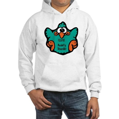 Anxiety Disorder Hooded Sweatshirt