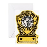 Minnesota State Patrol Greeting Cards (Package of
