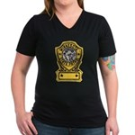 Minnesota State Patrol Women's V-Neck Dark T-Shirt