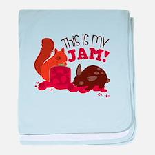 My Jam! baby blanket