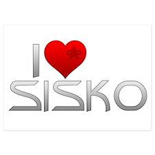 I Heart Sisko Invitations
