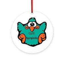 Agoraphobia Ornament (Round)
