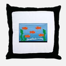 Goldfish Rule Throw Pillow