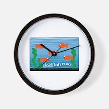 Goldfish Rule Wall Clock