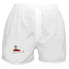 Gone Fishin Boxer Shorts