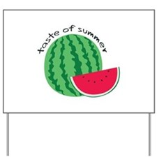 Taste Of Summer Yard Sign