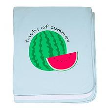 Taste Of Summer baby blanket