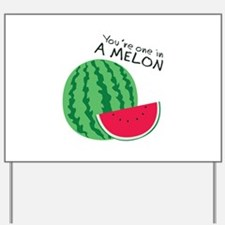 Watermelons Yard Sign