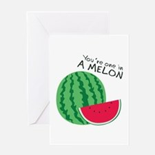 Watermelons Greeting Cards