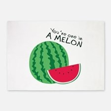 Watermelons 5'x7'Area Rug