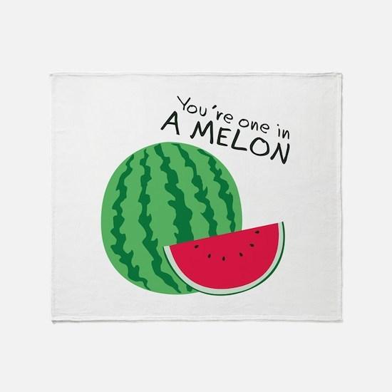 Watermelons Throw Blanket