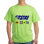 'Race 2 Win' in this Green T-Shirt