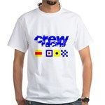 'Race 2 Win' in this White T-Shirt