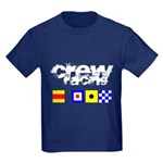 'Race 2 Win' in this Kids Dark T-Shirt