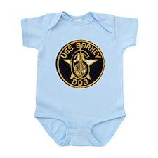 USS BARNEY Infant Creeper