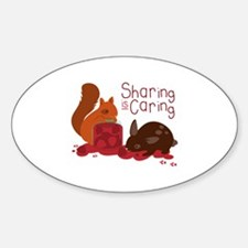 Sharing Is Caring Decal